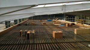 Linac Facility Concrete Construction