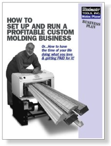 We'll e-mail you this 24-page book FREE. It contains EVERYTHING you need to know about starting a highly profitable woodworking business.