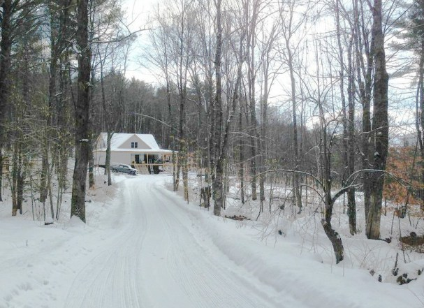 Home Sweet Home — the Phoenix's hand-built home on 70 beautiful wooded acres in Southern Vermont. Inspired by his dad and granddad, Eli built it himself.