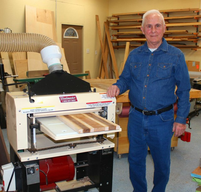 81 years young, Vern Mayer has always been handy with tools but never a woodworker. Now he runs his own woodworking business. And business is booming!