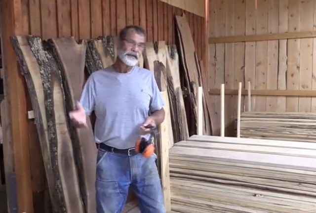 Bob's got inventory! When we spoke with him, he had 30,000 board feet of lumber ready to go. And he has the customers to make it all work.
