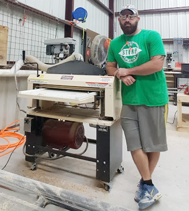 Jeff Derosia lost his full time job. That gave him the time (and motivation!) to up his game from hobbyist woodworker to full time pro. Things have worked out great, he tells us.