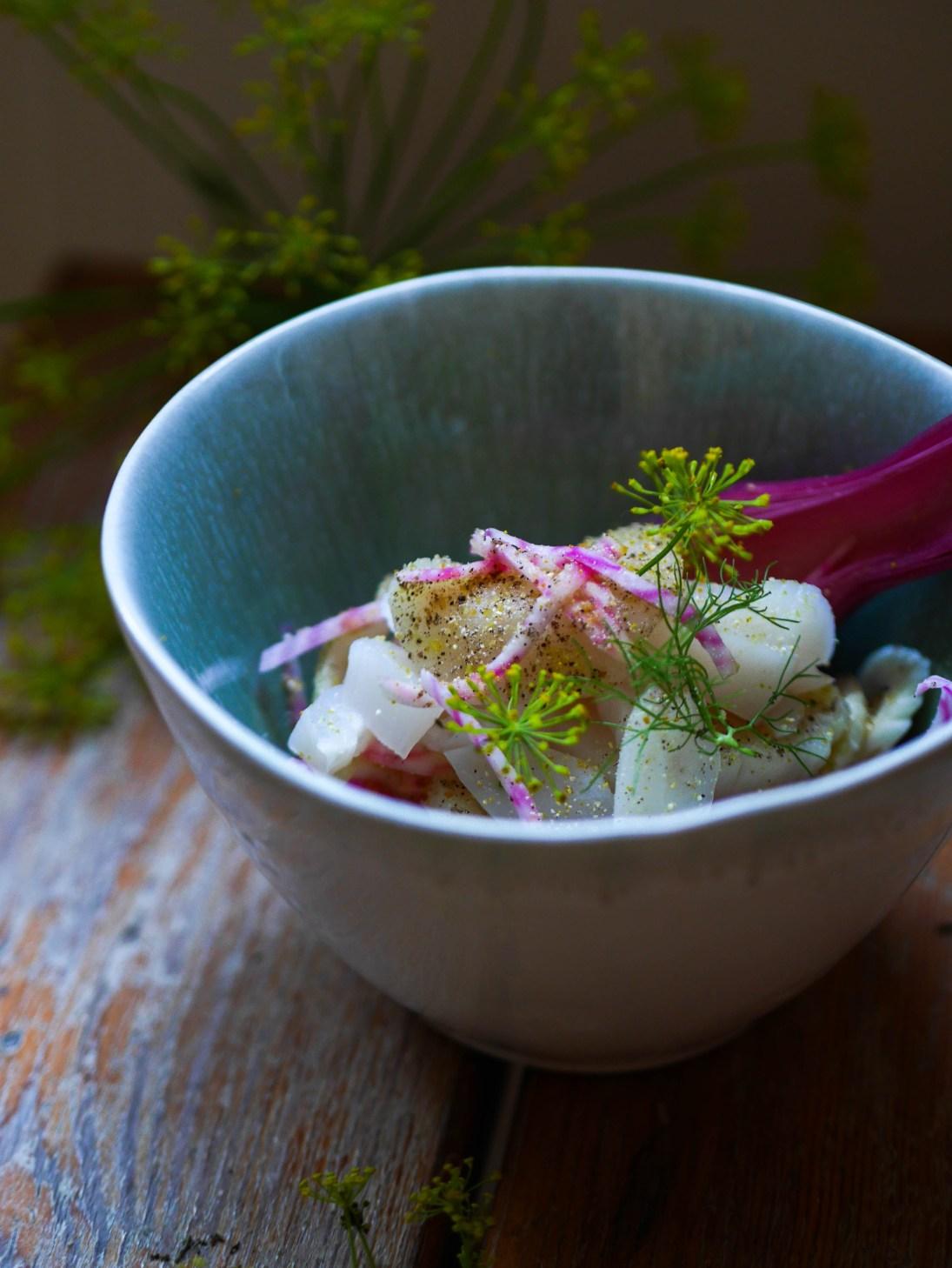 food-blog-culinaire-woodmoodfood-recette-facile-ceviche-saint-jacques-fleurs-aneth-1