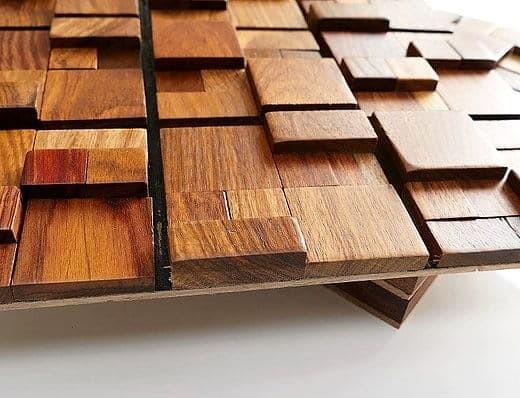 Luxurious 3D Wood Tiles