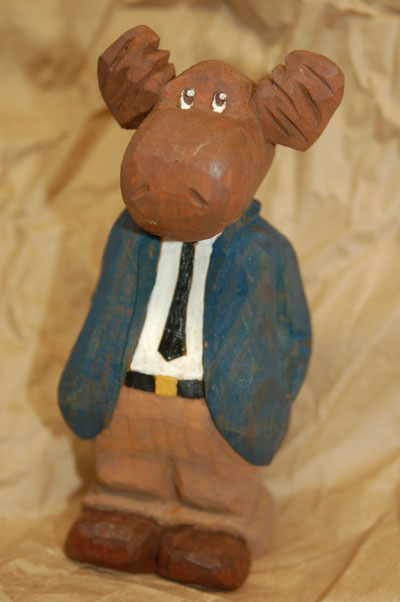 Rick Stiver Woodcarving Projects