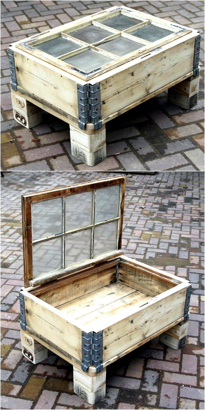 Creative Pallet Recycling Ideas by Lucie's Palettenmöbel ... on Pallets Design Ideas  id=51381