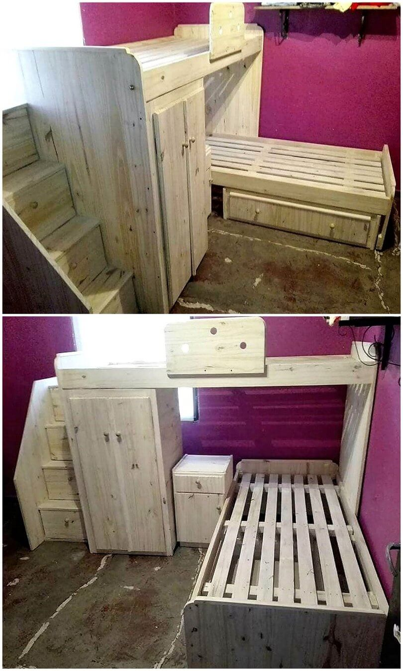 Ideas For Turning Old Wood Pallets Into Something Unique