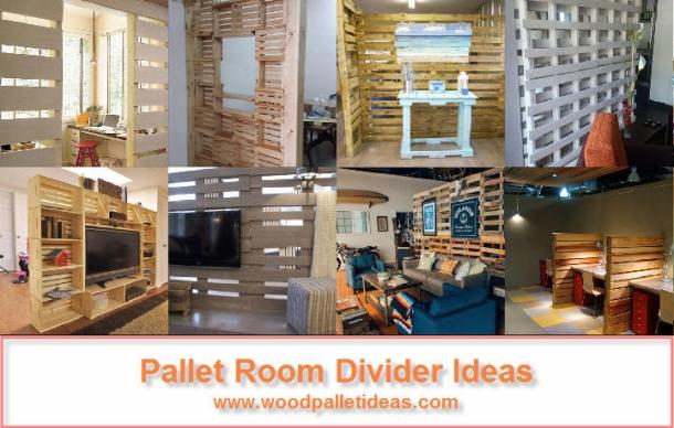 Pallet Room Divider Ideas - Wood Pallet Ideas on Pallet Room Ideas  id=23772