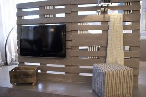 Creative Decor Ideas with Wooden Pallets - Wood Pallet Ideas on Pallet Room Ideas  id=80258