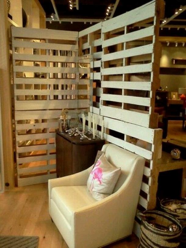 Pallet Room Divider Ideas - Wood Pallet Ideas on Pallet Room Ideas  id=56484