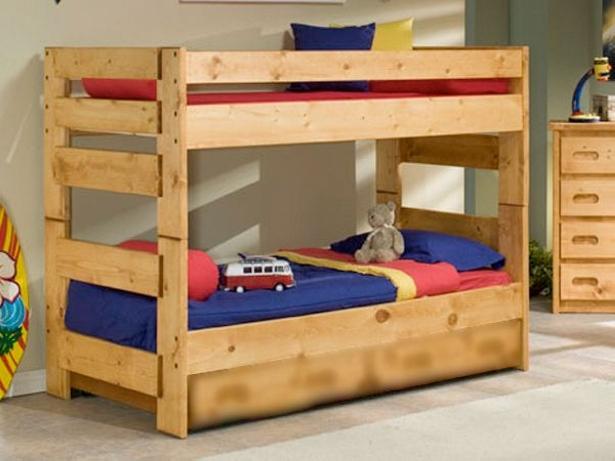 Astonishing Ideas For Pallet Loft Bunk Beds Wood Pallet Ideas