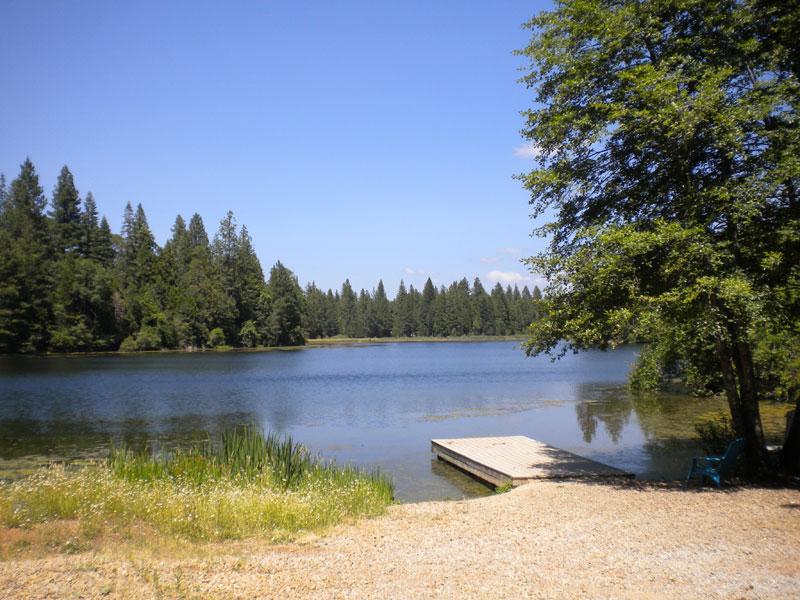 Woodridge Lake dock