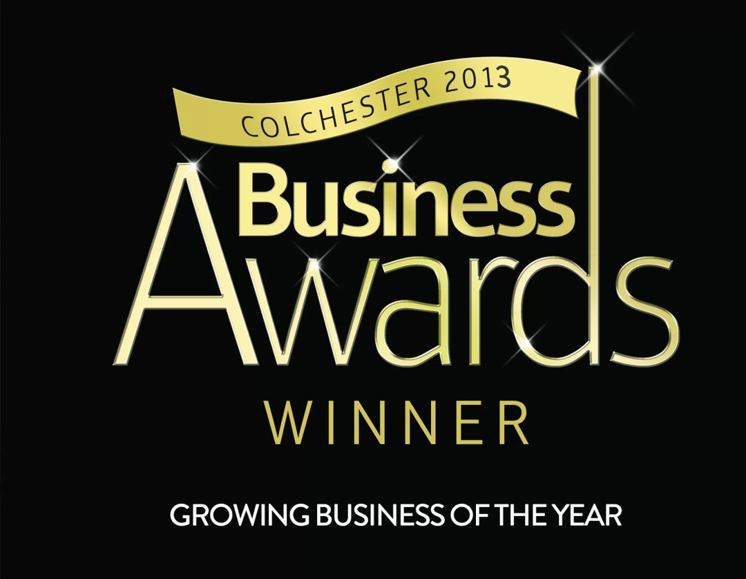 Colchester Business Awards 2013 winner Growing business of the year