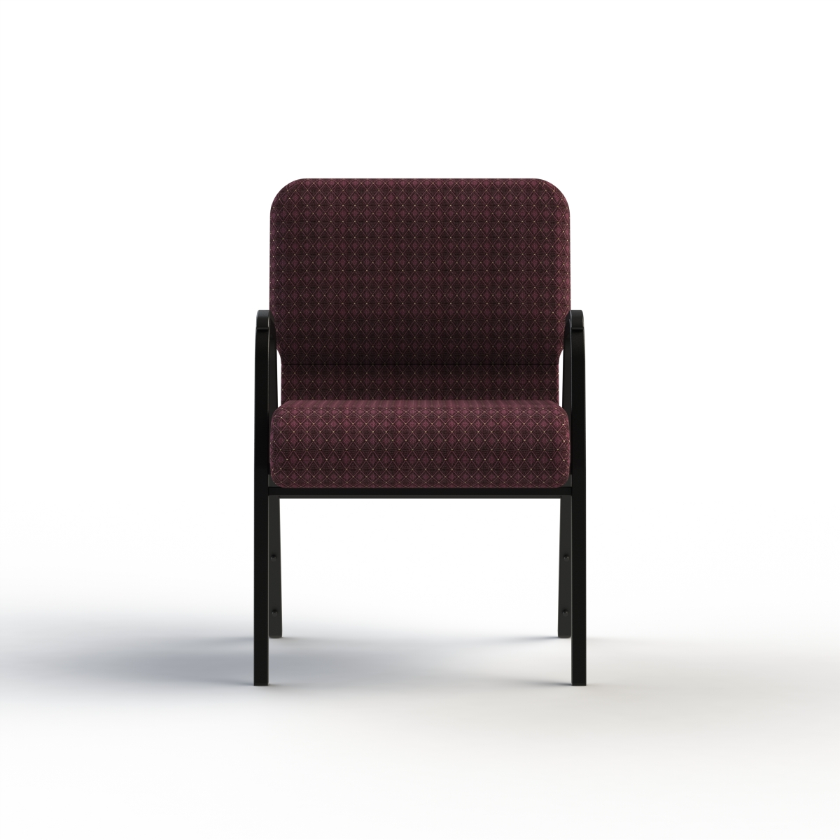 ... Cornerstone Chair With Arms Front View ...