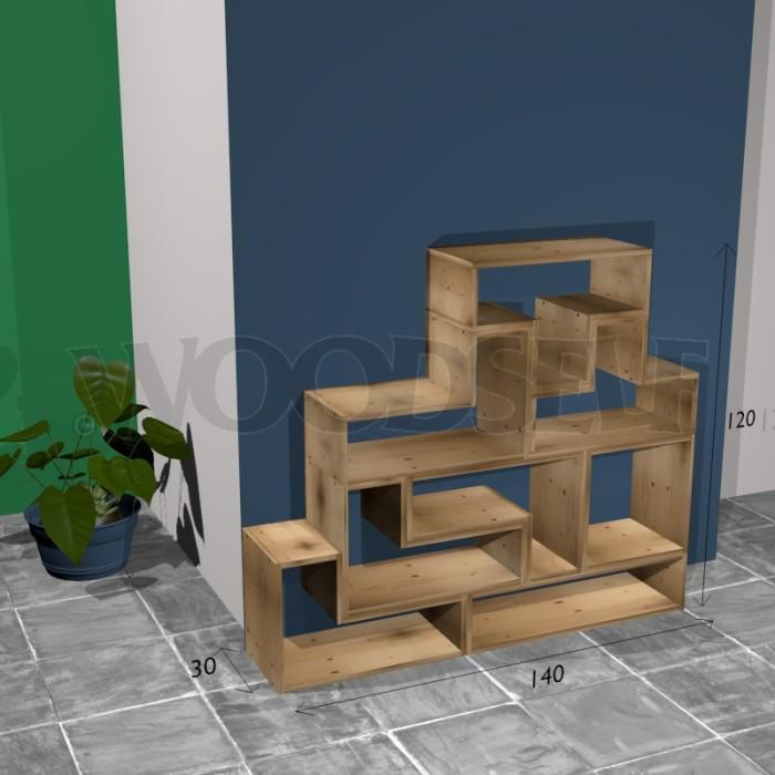 Etagre Tetris Woodself Le Site Des Plans De Meubles