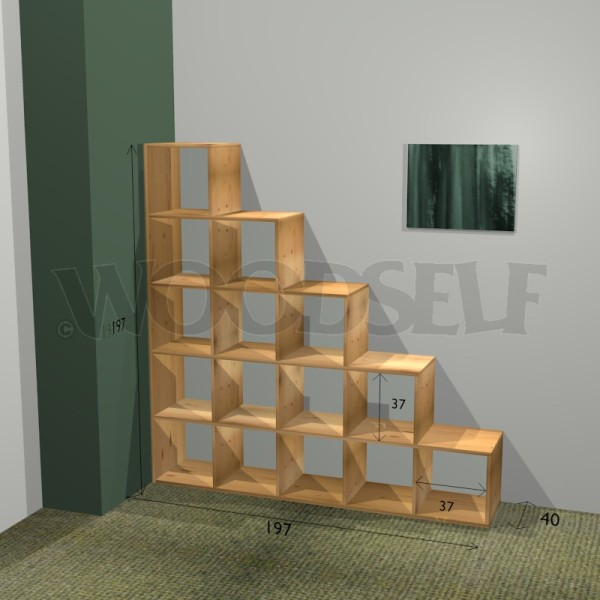 Bibliothque En Escalier Woodself Le Site Des Plans De