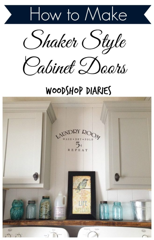 How to make simple Shaker Style Cabinet Doors!