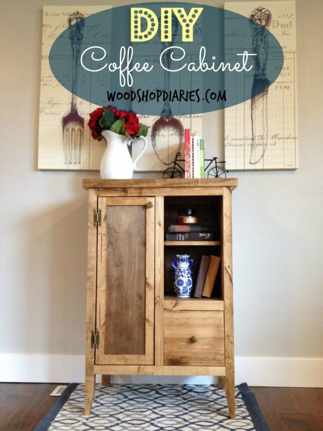 coffee cabinet pin