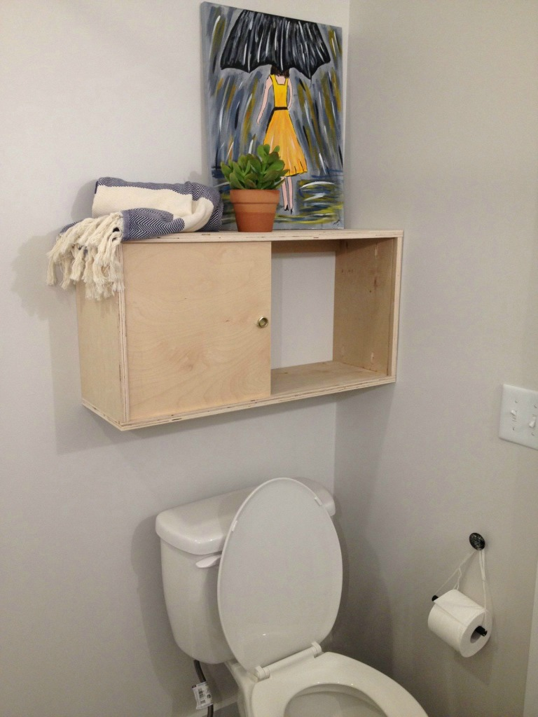 The story of my failed bathroom cabinet--Woodshop Diaries