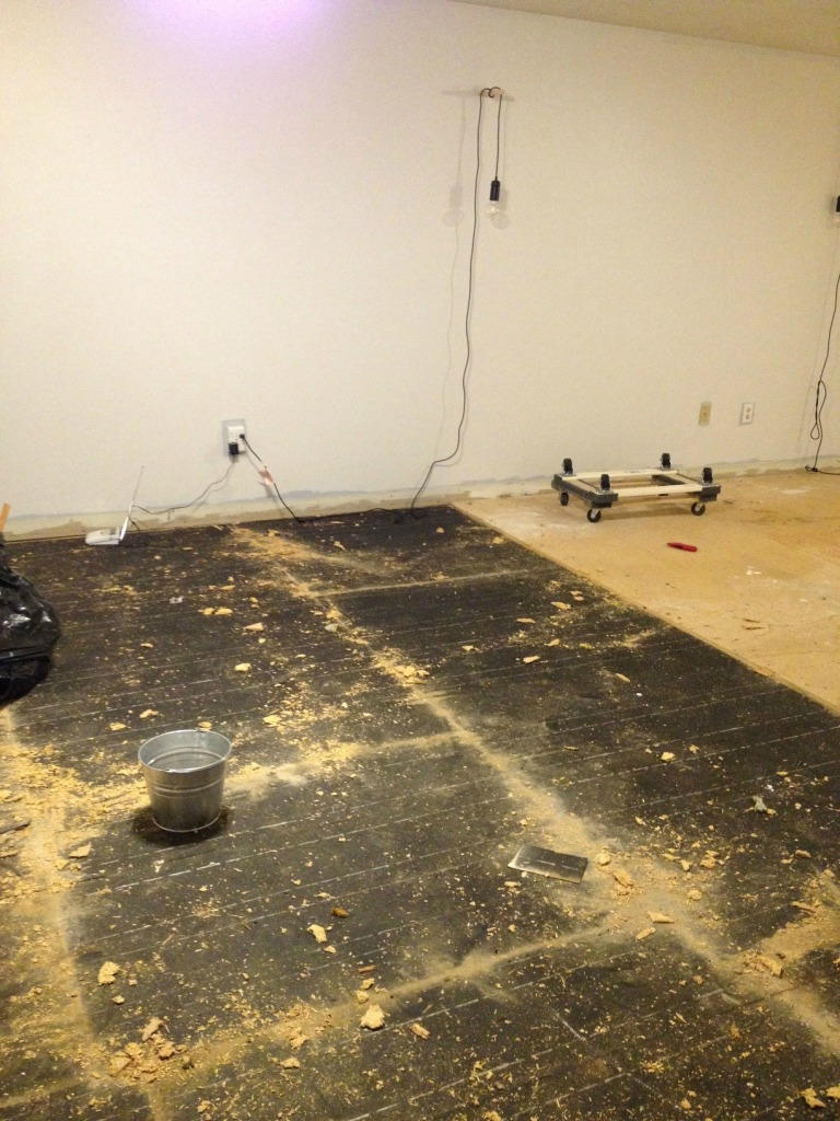 The Story of our Bedroom Flooring Chaos
