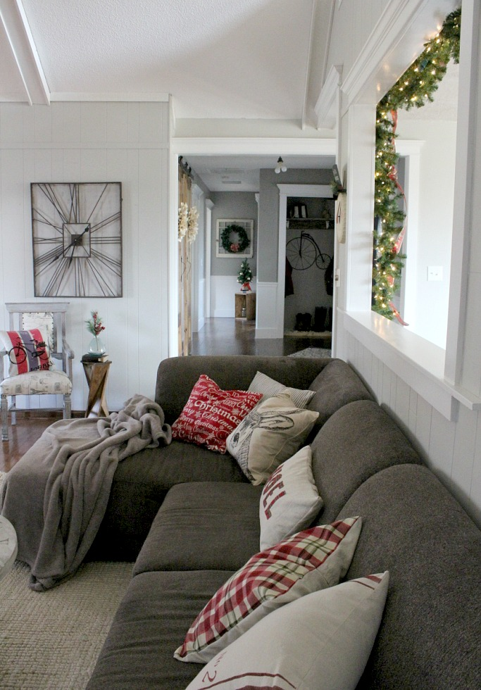 Christmas Home Tour 2016--Woodshop Diaries