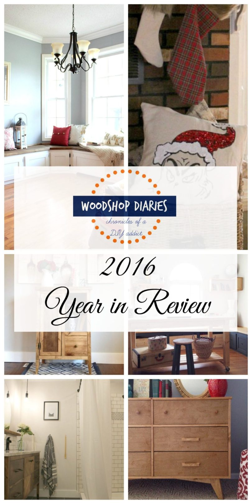 2016 Year in Review--My first REAL year of blogging