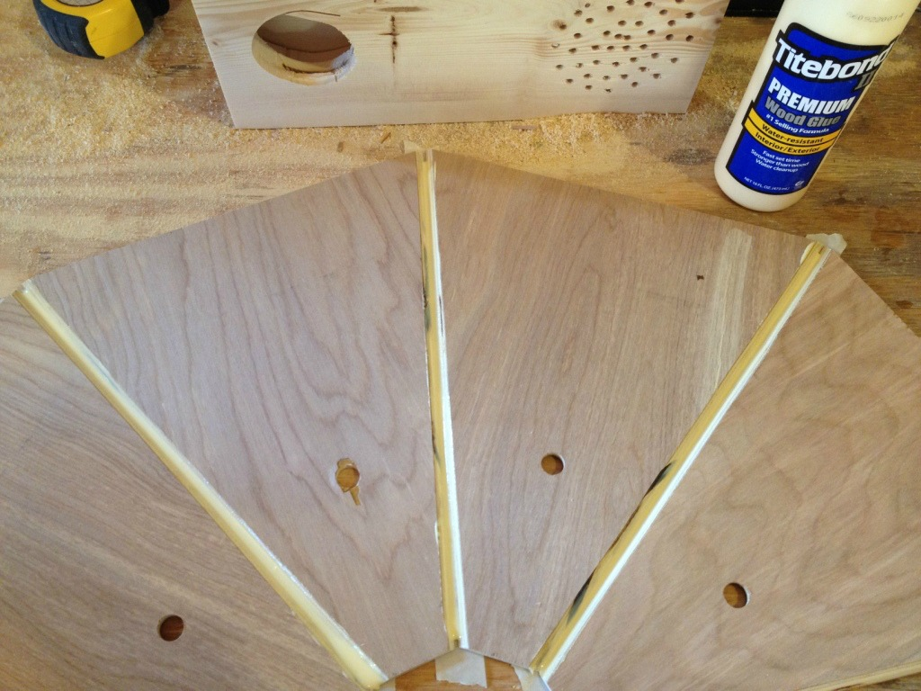 How to build a GORGEOUS wooden lantern!
