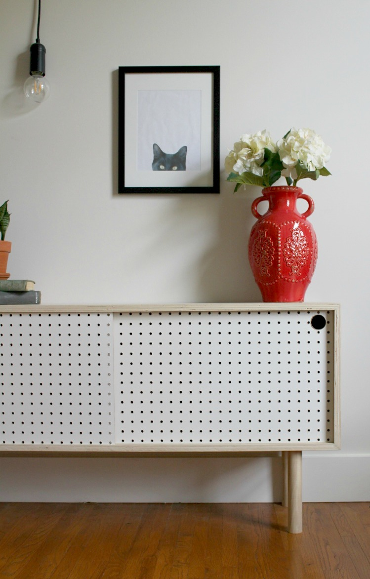 Merveilleux How To Build A Mid Century Modern Pegboard Cabinet
