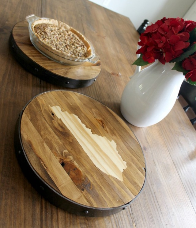 How to make a Personalized DIY Lazy Susan