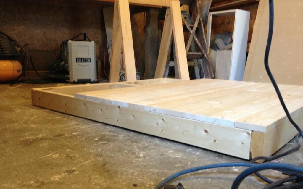 DIY Dog House with Deck