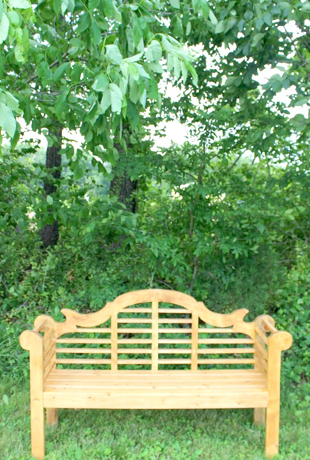 How to Build a DIY Lutyens Outdoor Garden Bench
