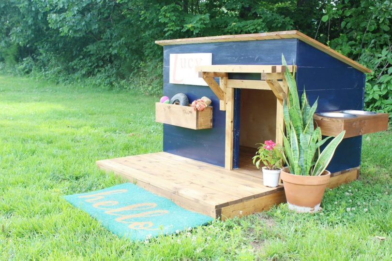 How to Build a Modern DIY Dog House