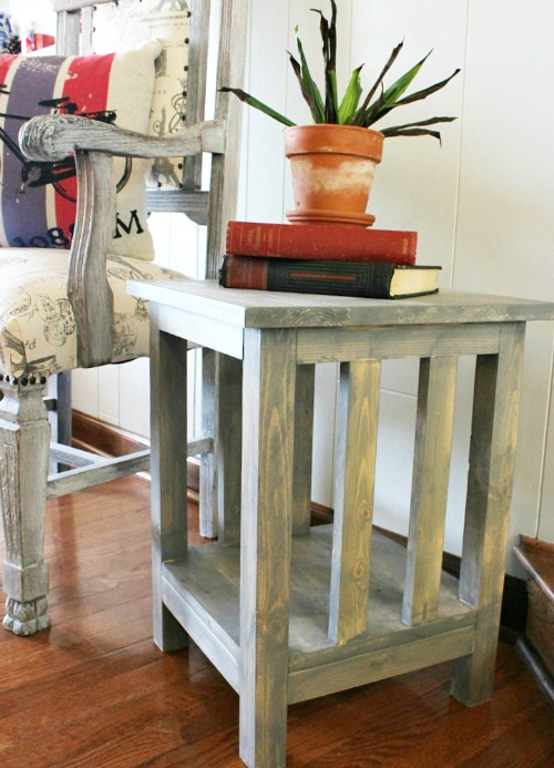 How To Build A Simple DIY Mission Style End Table - How to build an end table