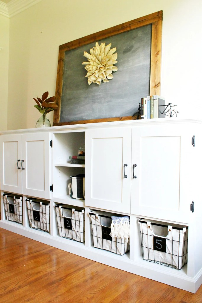diy storage furniture. How To Build A Combination Toy Storage Cabinet Diy Furniture