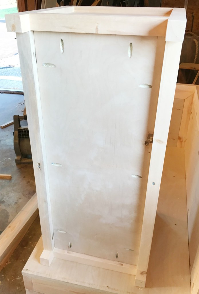 Add bottom to DIY Storage Chest