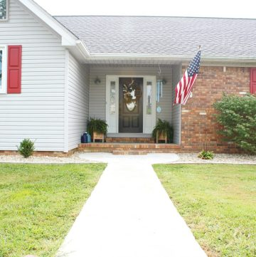 How a little concrete can improve curb appeal and update a worn out landscape