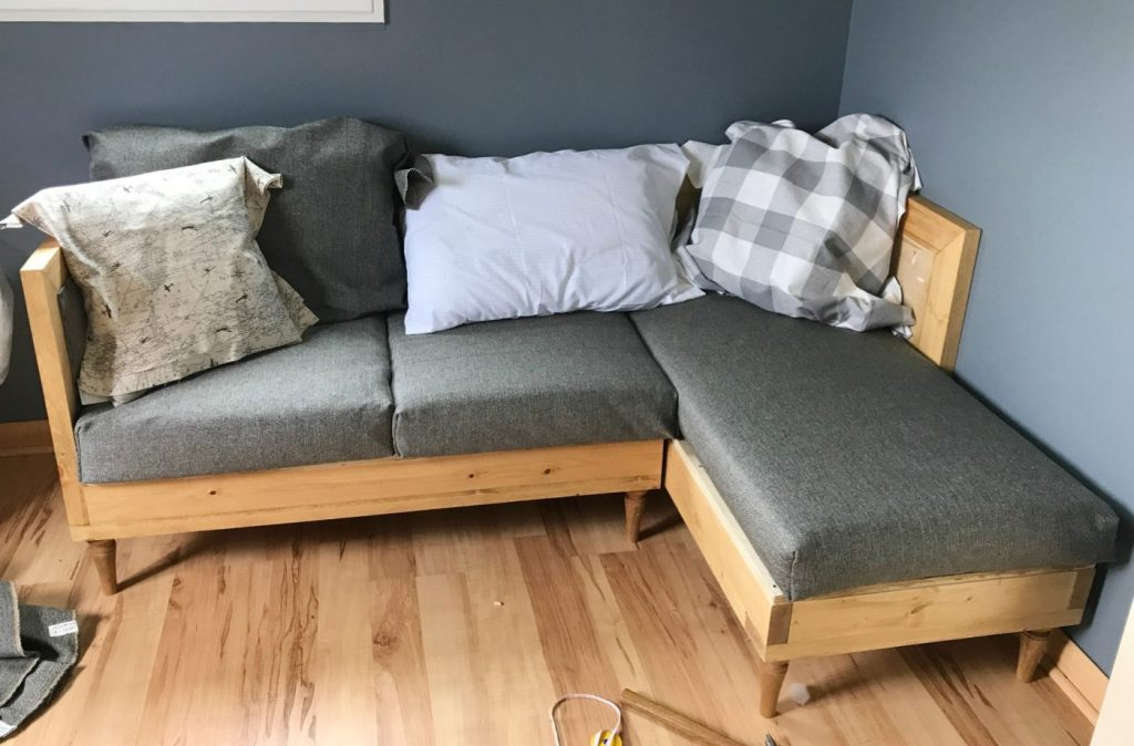 how to make sofa cushions