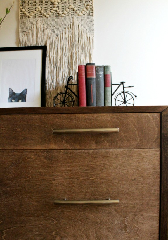 How To Build A Mid Century Modern Dresser  How To Miter Corner Cabinets And