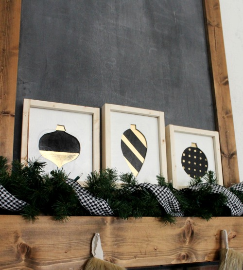 How to make scrap wood Christmas ornament signs