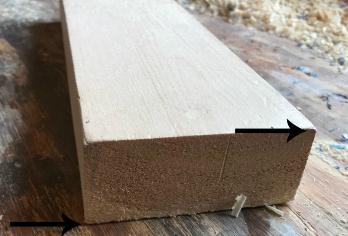 How to square edges of 2x boards