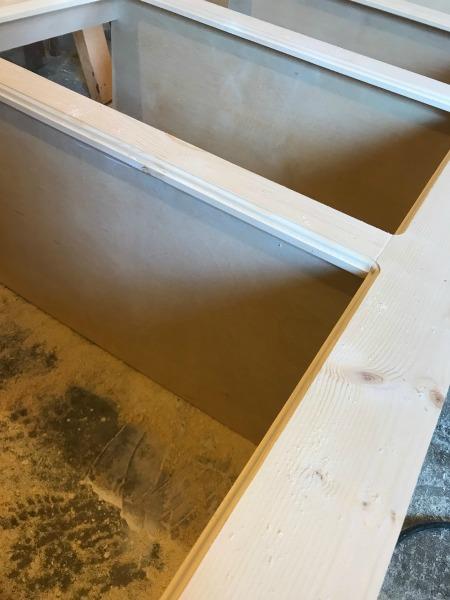 Diy Modern Farmhouse Faux Drawer Dresser