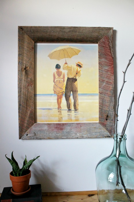 Diy Barn Wood Picture Frame