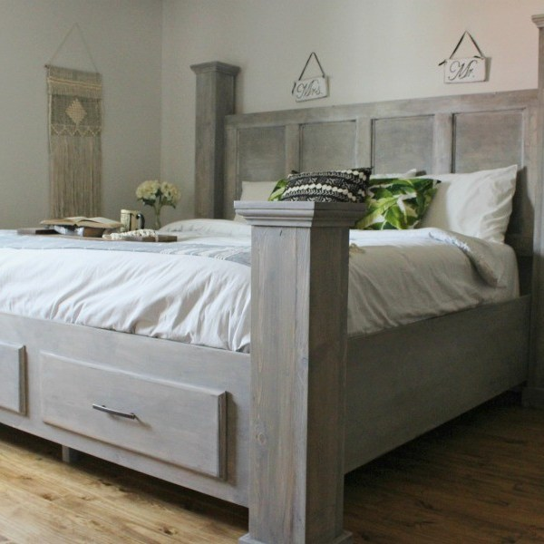 DIY Bedroom Furniture Building Plans--Woodshop Diaries