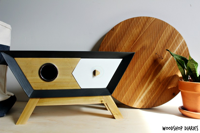 DIY Retro Wooden Bluetooth Speaker Box
