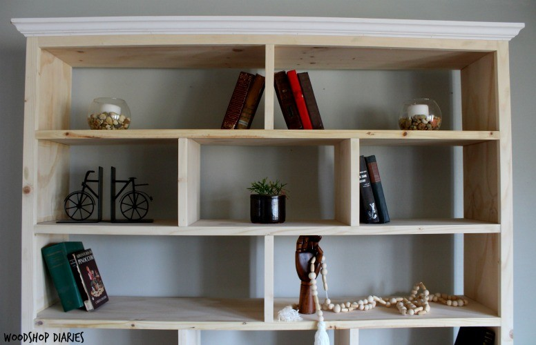 how to build a simple bookshelf