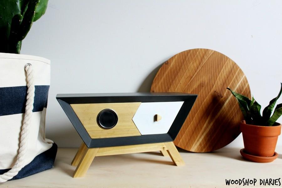 How to create a retro wireless DIY Bluetooth wooden speaker box