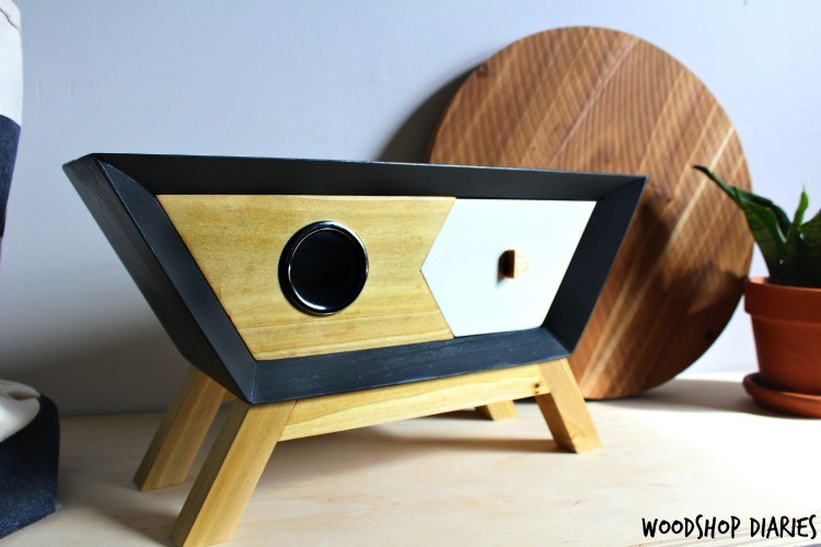 How to build a retro wooden DIY Bluetooth Speaker box