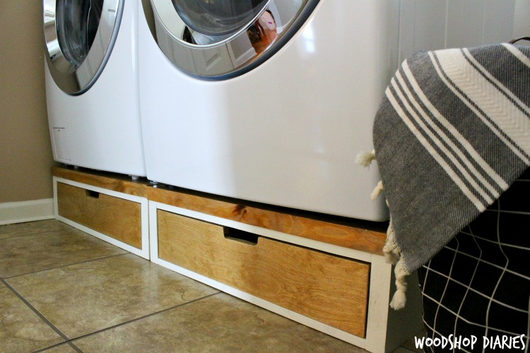 washer and dryer stands. DIY Washer And Dryer Pedestal Stands For A Fraction Of The Price Plastic Ones