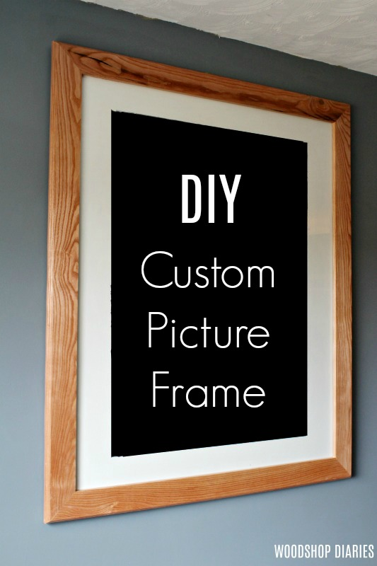 custom diy picture frame make it any
