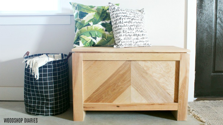 Stupendous Diy Storage Bench From Purebond Rough Sawn Plywood Caraccident5 Cool Chair Designs And Ideas Caraccident5Info